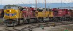 UP 3623 - CP 8800 - UP 3618 - CP 8768