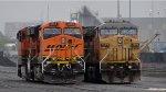 UP 7099-BNSF 6153
