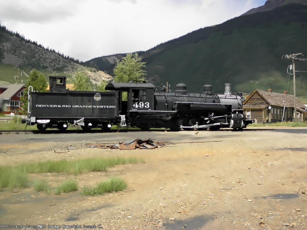 Denver & Rio Grande Western 493