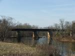The NS bridge over the Rapidan River
