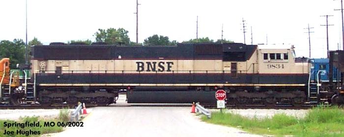 BNSF 9834