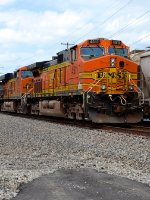 """BNSF """"Pumpkins"""" on the Point"""