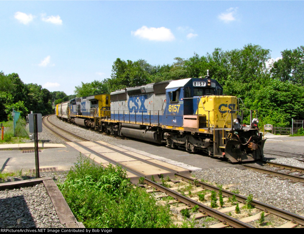 CSX 8157 and 380