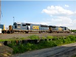 CSX 8612 and 7808
