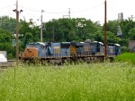 CSX 4732, 3131, and 1128
