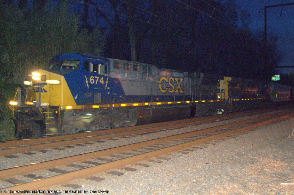 CSX AC60CW 674 leads Q410