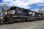 NS SD60E 6948 trails on 20W