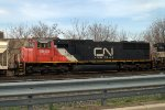 CN SD75I 5685 as the trailing unit on 39G