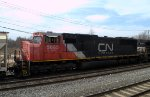 CN SD75I 5685 trails on 39G