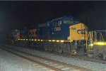 CSX C40-8W 7806 trails on Q418-18