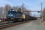 HLCX SD40-2 6334 leads R434-13