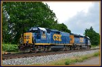 CSX 2386 now brings D750 east.