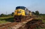 u302  loaded coal train heading east