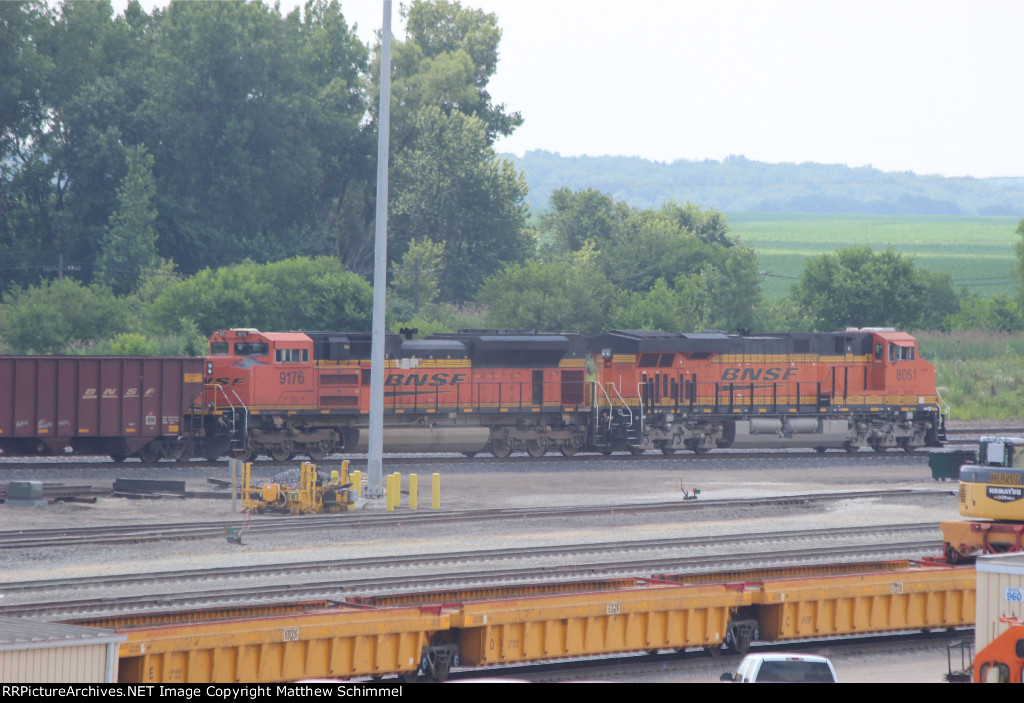 Out Bound Ore Train