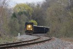 CSX 4016 leads the way as K901 comes west through the curves east of Seymour