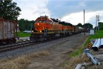 BNSF 2681 and 2351