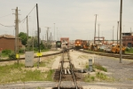BNSF 1786, 7086 & MOW at CP Corwith (BNSF & CN) - BNSF Corwith Yard