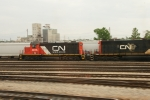 CN (GTW) 4616, CN (GTW) 5932 @ Glenn Yard