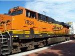 BNSF ES44DC 7834
