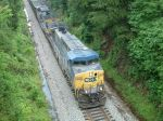 Overhead view of CSX 263