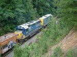 CSX 6409 on this rail train