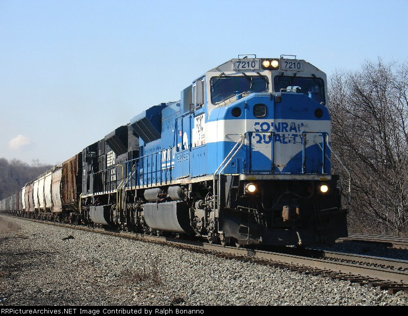 NS Local C90 with heavy power upgrade eastbound