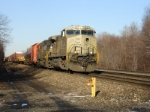 Westbound primer  heads into the sun at Carney's Crossing