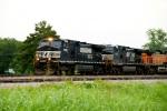 NS 9259, 9139, BNSF 4603