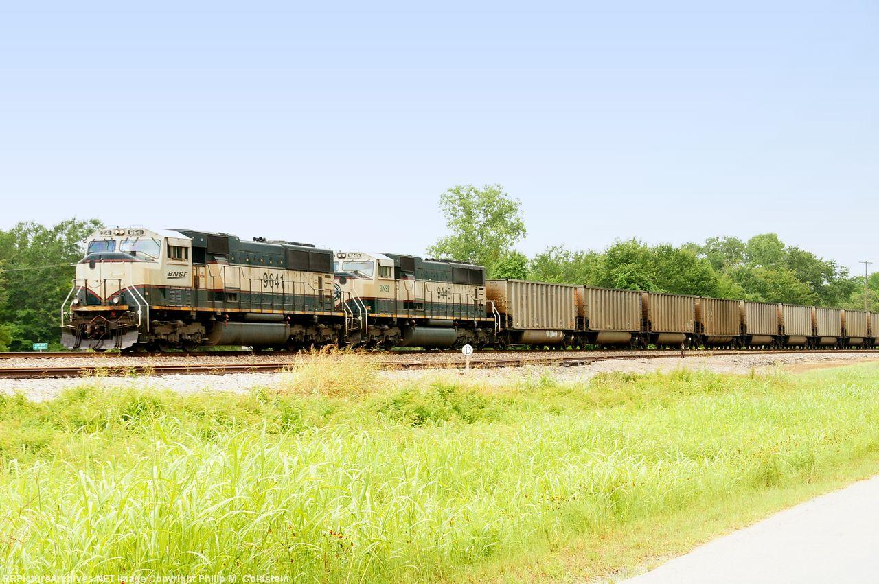 BNSF 9641, 9445