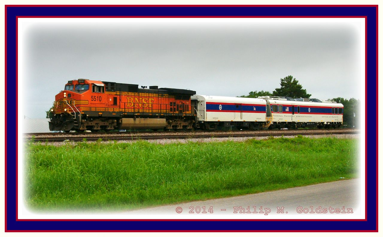 DOT/FRA DOTX 219/223 & BNSF 5510 - Office of Safety Inspection Train