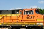 BNSF 4087 - Hey look! Another open door! On the same train!
