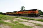 BNSF 7806, UP 5038, BNSF 4087