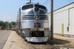 CBQ 9911 prepares to pull the brunch train at the Illinois Railway Museum