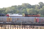 BNSF 971 Heads up a EB freight with a ex Soo line 60 2nd out.