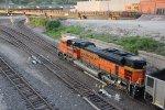 BNSF 9084 Dpu on a loaded coal drag.
