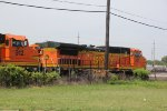 BNSF 887 Another Santa Fe dash 8 now in the dead line.