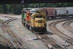 BNSF 3172 Heads up a Transfer toward the Kcs yard.
