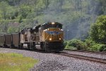 UP 8532 Heads up a EB loaded coal drag with a Ace on lead.