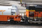 BNSF 9131 detailing with the LNG SET.