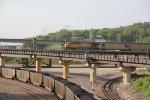 UP 6968 Dpu on a EB coal train.