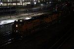 BNSF 6617 Heads a freight EB..