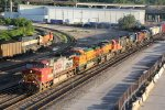 BNSF 791 Leads one hell of a set of power!!!