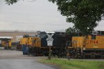 CSX 72 and other's sit at Mid America car.