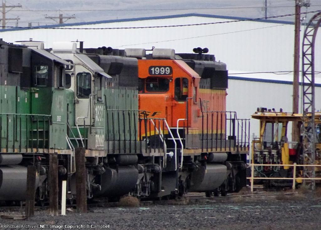 BNSF 1831 - BNSF 1999