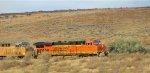 BNSF 7446 - UP 7094