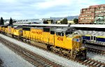 UP 4361 in freight