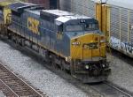 CSX 7836  GE C40-8W