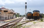 CSX Kaley yard by the Sunrail platform