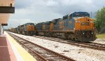 CSX power at Kaley yard