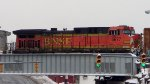 BNSF 5677 trailing on NS H53